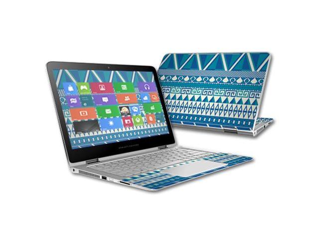 X360 2 in 1 13 3 quot wrap cover sticker skins blue aztec newegg com