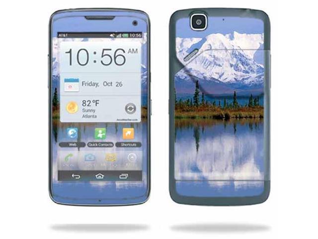 ... for Pantech Flex P8010 Cell Phone ATu0026T wrap sticker skins Mountains