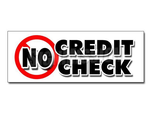 36 No Credit Check Decal Sticker Car Automobile Pay Here Furniture Appliance