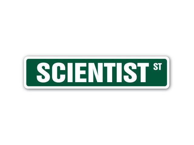 SCIENTIST Street Sign Marine Biologist Zoologist ...