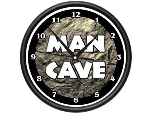 Man Cave Clock : Man cave clock sports sign game room gift