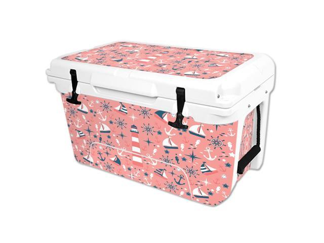 Skin Decal Wrap for RTIC 45 qt Cooler cover sticker Nautical Dream