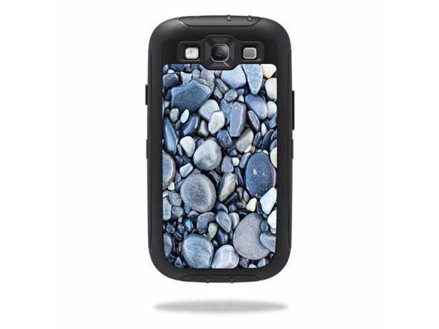 Skin Decal Wrap for OtterBox Defender Samsung Galaxy S III S3 Case Rocks