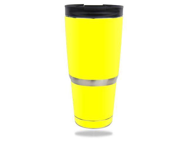 Skin Decal Wrap for ENGEL 30 oz Tumbler Solid Yellow
