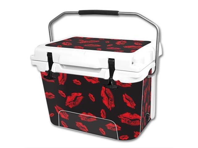 Skin Decal Wrap for RTIC 20 qt Cooler cover sticker Kiss Me