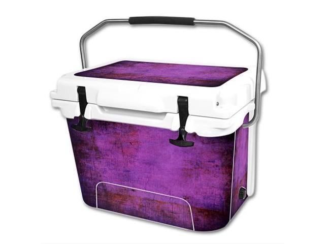 Skin Decal Wrap for RTIC 20 qt Cooler cover sticker Purple Sky