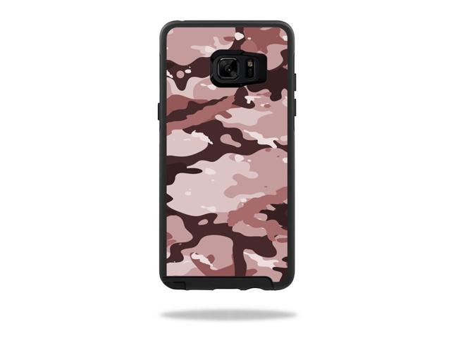 Skin Decal Wrap for OtterBox Symmetry Galaxy Note 7 Brown Camo