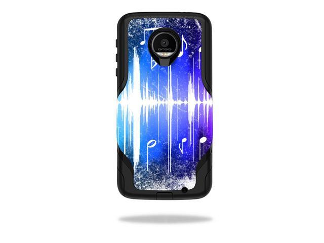 Skin Decal Wrap for OtterBox Commuter Moto Z Force Droid Music Man