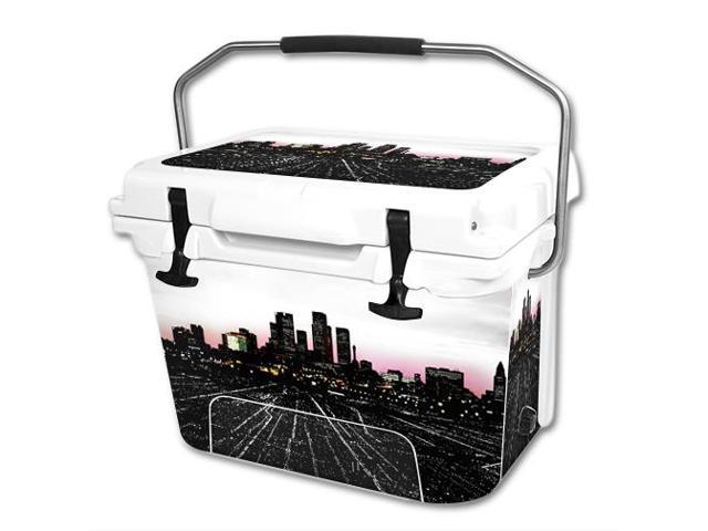 Skin Decal Wrap for RTIC 20 qt Cooler cover sticker Urban Night