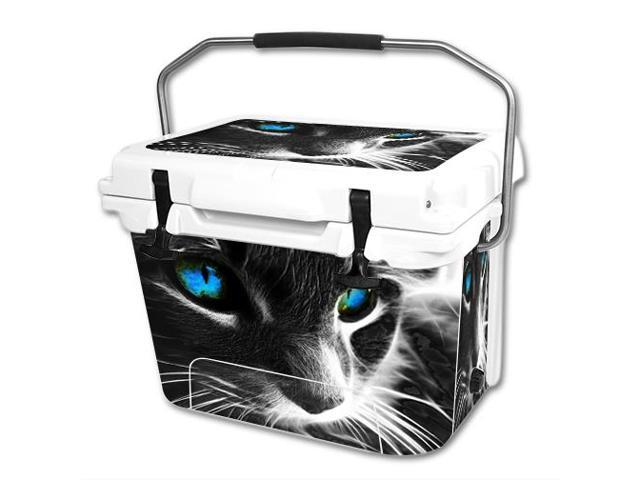 Skin Decal Wrap for RTIC 20 qt Cooler cover sticker Cat