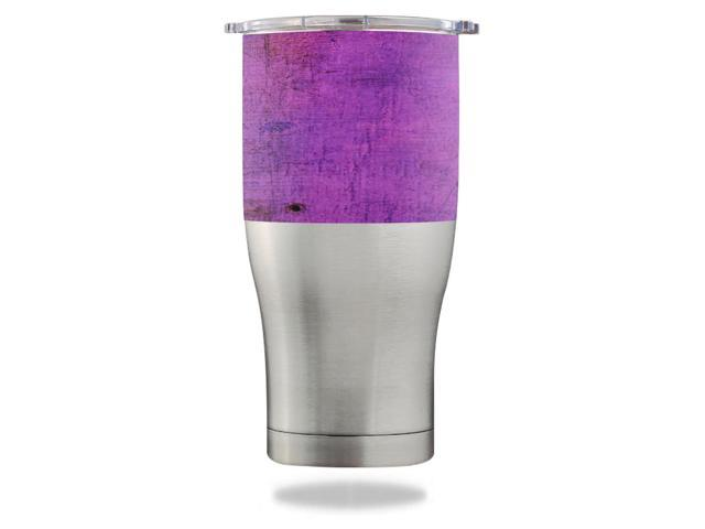 Skin Decal Wrap for Orca Chaser 27 oz Tumbler Purple Sky