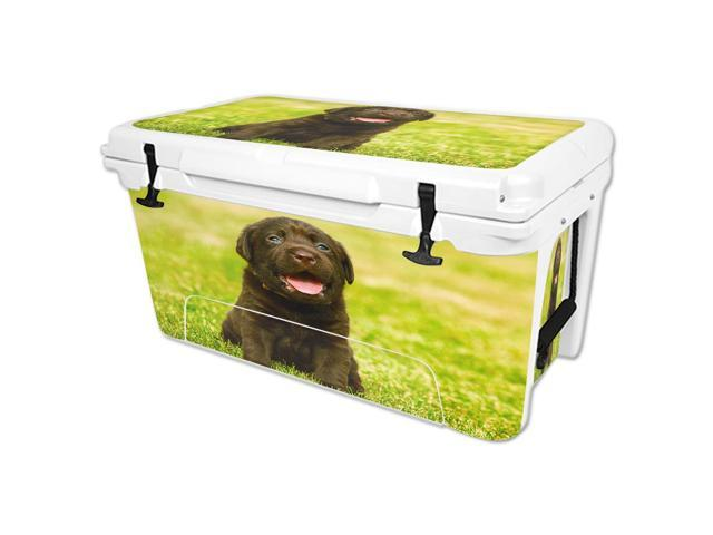 Skin Decal Wrap for RTIC 65 qt Cooler cover sticker Pup