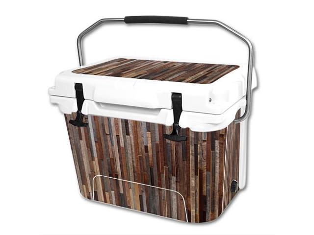 Skin Decal Wrap for RTIC 20 qt Cooler cover sticker Woody