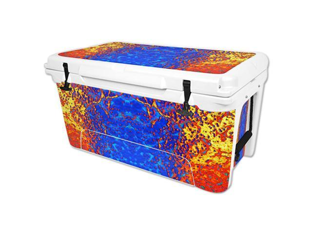Skin Decal Wrap for RTIC 65 qt Cooler cover sticker Melting