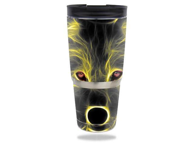 Skin Decal Wrap for ENGEL 30 oz Tumbler Neon Wolf