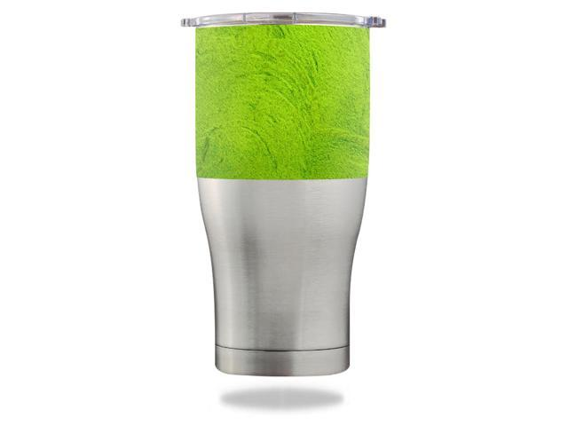 Skin Decal Wrap for Orca Chaser 27 oz Tumbler Green Cement