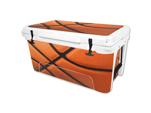 Skin Decal Wrap for RTIC 65 qt Cooler cover sticker Basketball