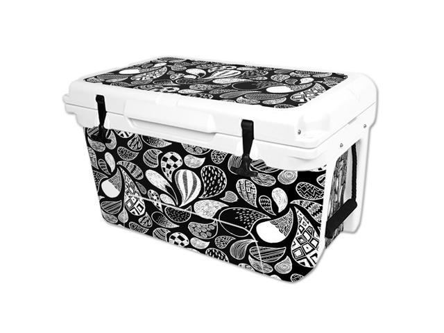 Skin Decal Wrap for RTIC 45 qt Cooler cover sticker Drops