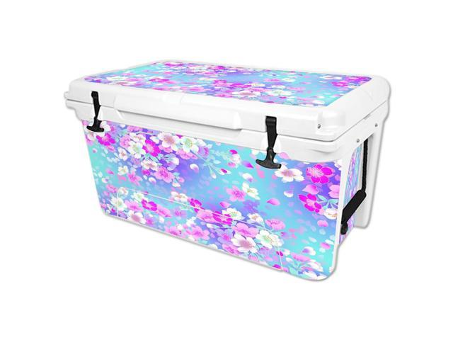 Skin Decal Wrap for RTIC 65 qt Cooler cover sticker In Bloom