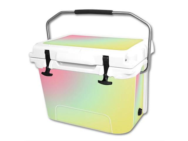 Skin Decal Wrap for RTIC 20 qt Cooler cover sticker Berry Blurry