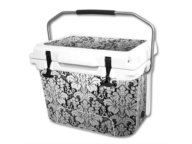 Skin Decal Wrap for RTIC 20 qt Cooler cover sticker Floral Retro