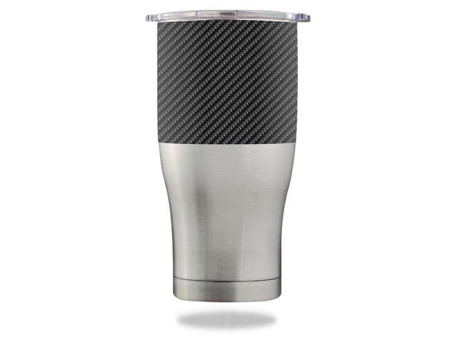 Skin Decal Wrap for Orca Chaser 27 oz Tumbler Carbon Fiber