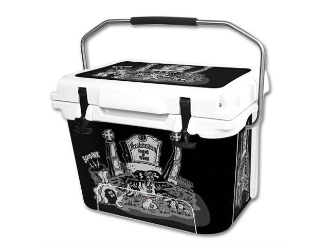 Skin Decal Wrap for RTIC 20 qt Cooler cover sticker Freakenstein