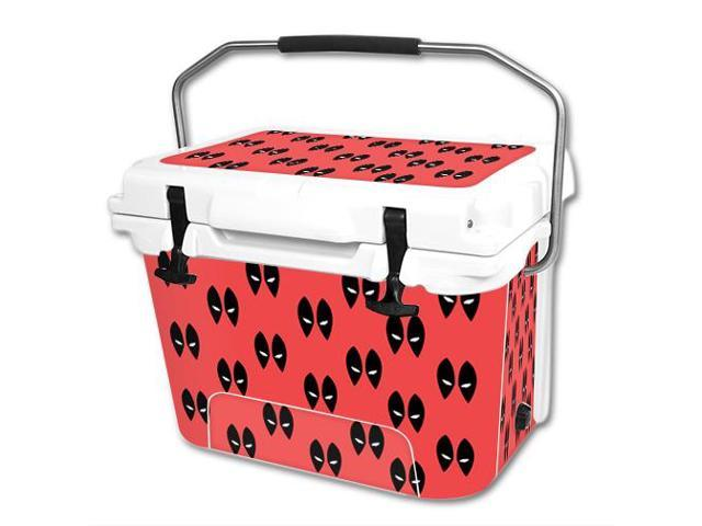 Skin Decal Wrap for RTIC 20 qt Cooler cover sticker Dead Eyes Pool