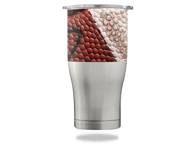 Skin Decal Wrap for Orca Chaser 27 oz Tumbler Football