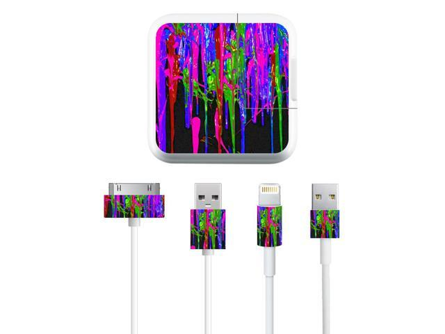 Skin Decal Wrap for Apple iPad Charge Kit Drips