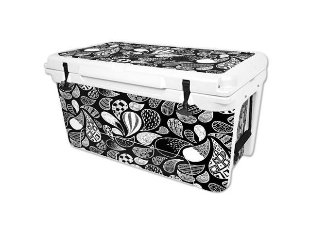 Skin Decal Wrap for RTIC 65 qt Cooler cover sticker Drops