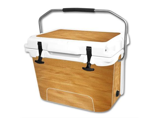 Skin Decal Wrap for RTIC 20 qt Cooler cover sticker Birch Grain