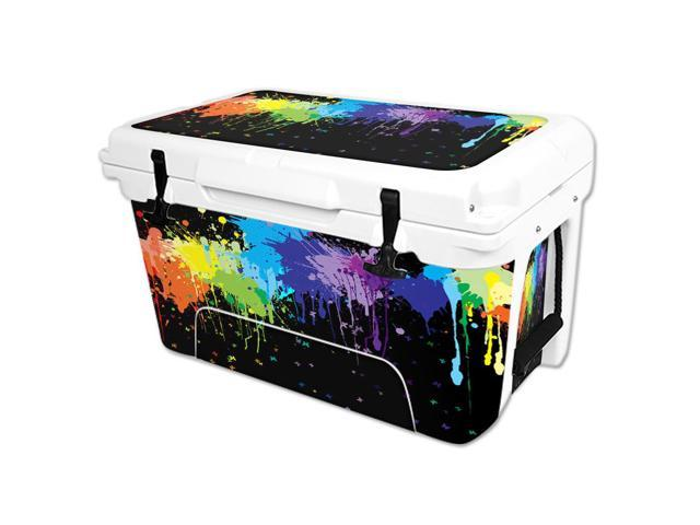 Skin Decal Wrap for RTIC 45 qt Cooler cover sticker Splatter