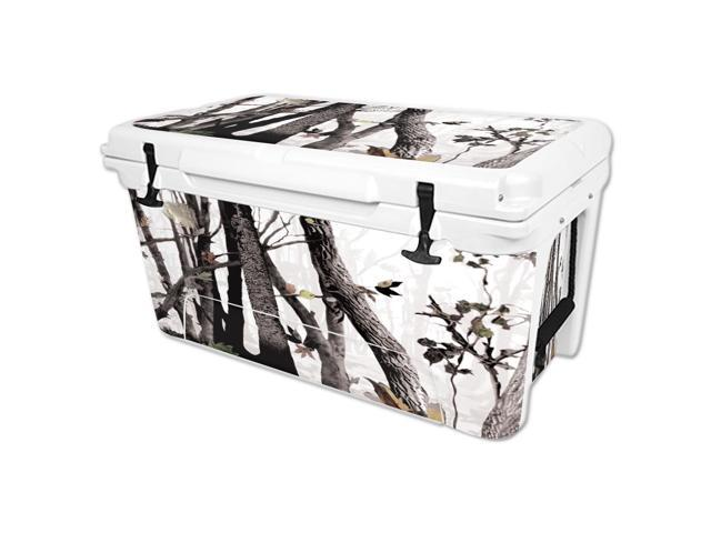Skin Decal Wrap for RTIC 65 qt Cooler cover sticker Artic Camo
