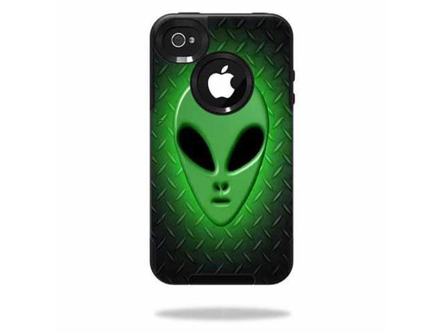 Skin Decal Wrap for OtterBox Commuter iPhone 4 Case Alien Invasion