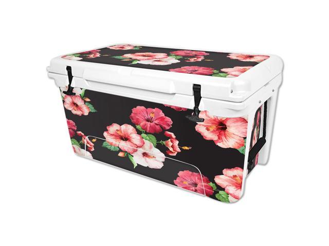 Skin Decal Wrap for RTIC 65 qt Cooler cover sticker Hibiscus