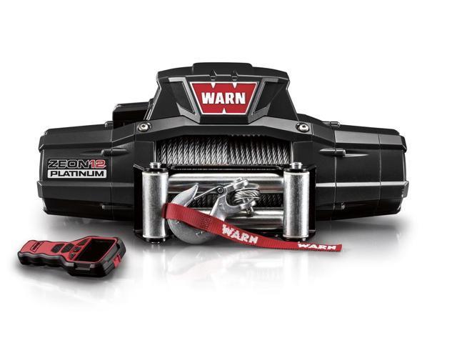 Warn 92820 ZEON Platinum 12; Winch; 12000 lb./5443 kg.; Single Line; Roller Fairlead; 12V DC Motor;
