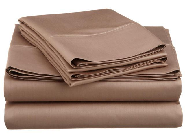 Superior Soft Sheet Set, Wrinkle Free Microfiber, Deep Pockets, Twin XL, Taupe