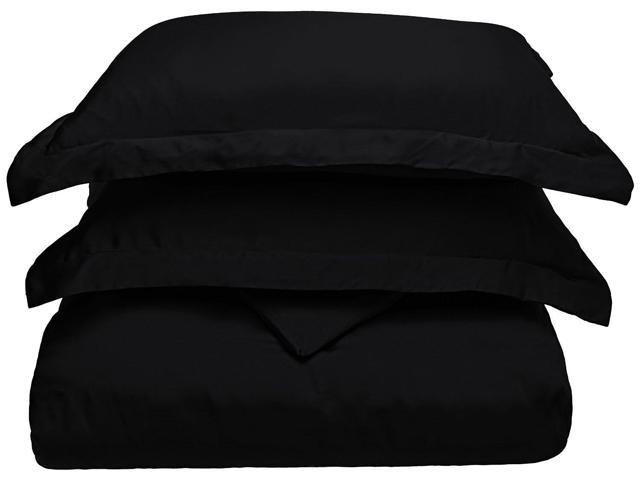 Superior Ultra Soft Modal From Beach Duvet Cover Set, Top Quality, Full/Queen, Black