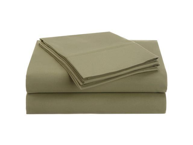 Superior Soft Sheet Set, Wrinkle Free Microfiber, Deep Pockets, Cal King, Sage