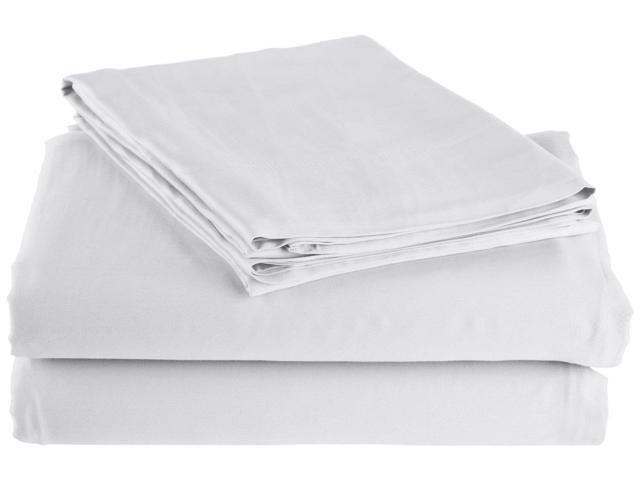 Impressions Ultra Soft 300-Thread-Count Sheet Set, Rayon From Bamboo, Full, White