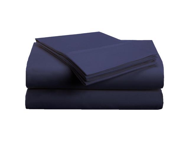 Superior Soft Sheet Set, Wrinkle Free Microfiber, Deep Pockets, Twin XL, Navy Blue