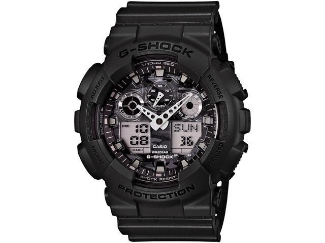 Casio G-shock Ga100cf-8a Xl Ga100 Series Black  Silver Men U0026 39 S Watch