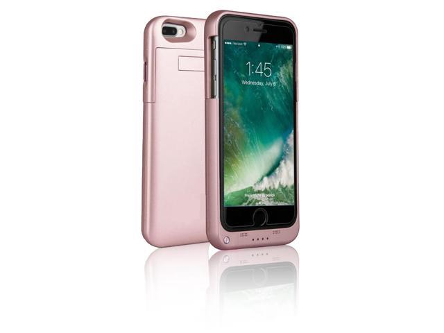Indigi® High Capacity Reserve 4000mAh External Battery Case (Rose Gold) for iPhone 7 plus