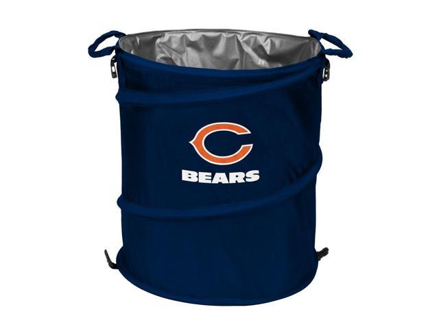 Chicago bears collapsible trash can cooler - Collapsible garbage can ...