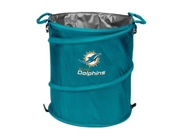 Miami Dolphins Collapsible Trash Can Cooler