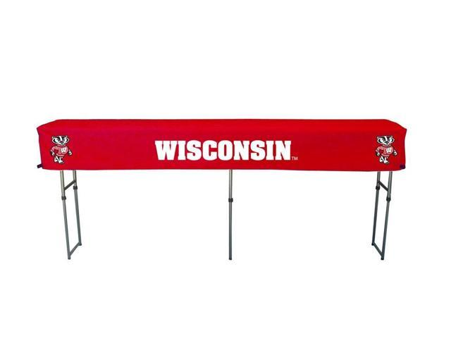 Rivalry RV439-4500 Wisconsin Canopy Table Cover