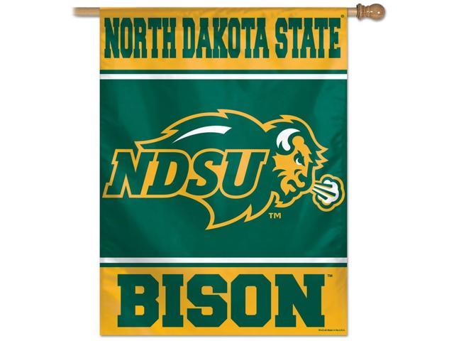 North Dakota State University Vertical Outdoor House Flag