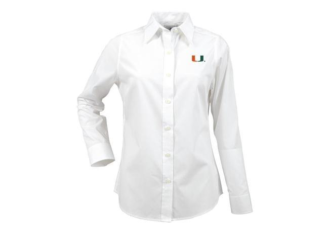 University of Miami Hurricanes Women's Long Sleeve Dress Shirt