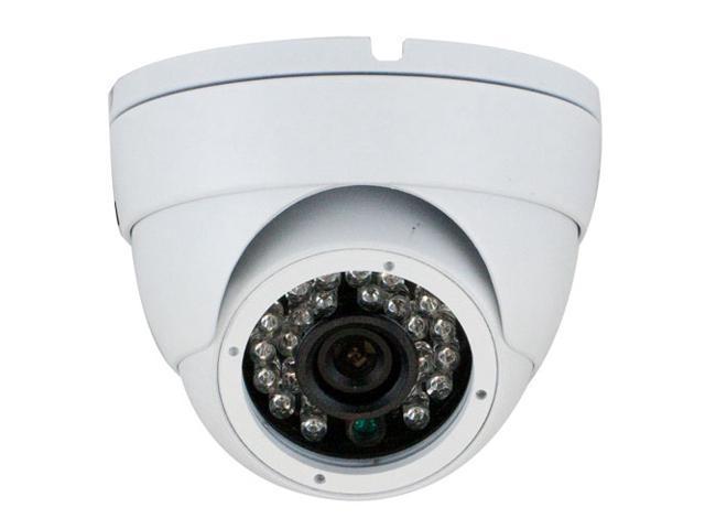 GW Sony CMOS 900 TVL 3.6mm Lens Day & Night 49 Feet IR Distance Indoor Dome Security Camera CCTV Surveillance with Power ...